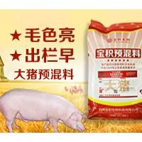 宝积大猪预混料促进生长提高采食量