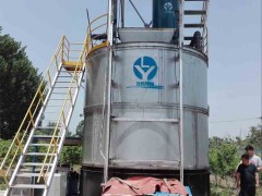 有机肥好氧发酵罐 高温快速发酵罐组成结构及简介