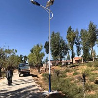 石家庄农村5米6米太阳能路灯批发价格