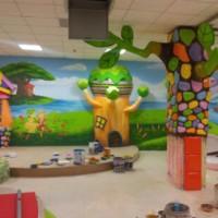 口碑好的墙画专业报价-幼儿园涂鸦如何选择