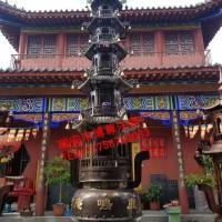 温州高质量的五层纯铜宝鼎厂家 寺庙宝鼎